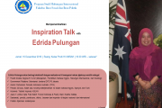 Inspiration Talk with Edrida Pulungan