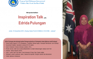 Inspiration Talk with Edrida Pulungan