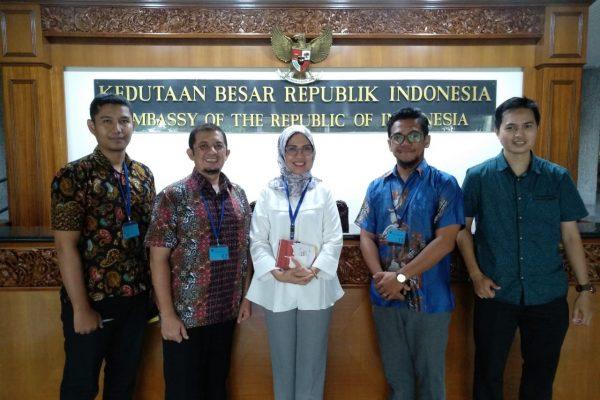Kepala Atase Pendidikan dan Budaya di Kedutaan Besar Republik Indonesia untuk Singapura Ibu Veronica Enda Wulandari (2 Juli 2018)