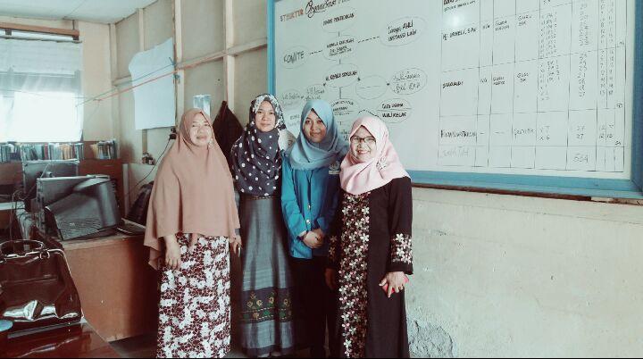 Presentasi di SMA Regional Padang