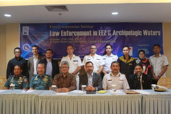 "Nara Sumber French-Indonesian Seminar SAYED FAUZAN RIYADI, S.Sos, IMAS  ""Law Enforcement in EEZ & Archipelaguc Waters"" 17-19 Oktober 2017"